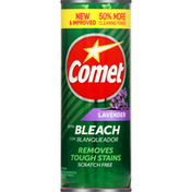Comet Cleanser, With Bleach, Lavender