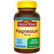 Nature Made Magnesium Oxide 250 mg Softgels