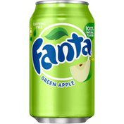 Fanta Green Apple Fruit Soda Soft Drinks