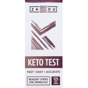 Zhou Keto Test, Test Strips