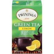 Twinings Lemon Green Tea Bags