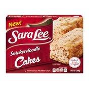 Sara Lee Snickerdoodle Cakes - 7 CT