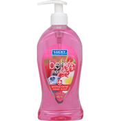 Lucky Super Soft Hand Soap, Antibacterial, Berry Medley