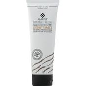 Alaffia Hand & Body Creme, Coconut Reishi, Coconut Vanilla