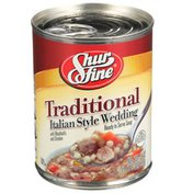 Shurfine Traditional Italian Style Wedding With Meatballs And Chicken Ready To Serve Soup