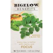 Bigelow Tea, Moringa & Black Tea, Tea Bags