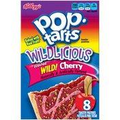 Kellogg's Pop-Tarts Wildlicious Frosted Wild! Cherry Toaster Pastries