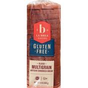 La Brea Bakery Artisan Sandwich Bread, Gluten Free, Multigrain, Sliced