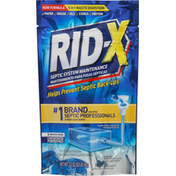 Rid-X Septic System Maintenance, Concentrated Powder Pacs
