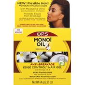 Ors Hair Gel, Edge Control, Anti-Breakage, Tahitian Coconut