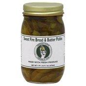 Freedom Farms Pickles, Sweet Fire Bread & Butter