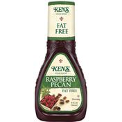 Ken's Steak House Dressing, Fat Free, Raspberry Pecan