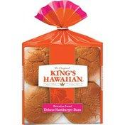 King's Hawaiian Hawaiian Sweet Deluxe Hamburger Buns