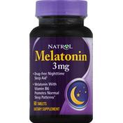Natrol Melatonin Dietary Supplement Tablets