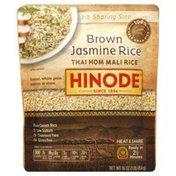 Hinode Jasmine Rice, Brown, Sharing Size