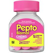 Pepto-Bismol Pepto Bismol Chews, Fast And Effective Digestive Relief
