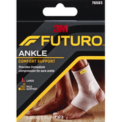 FUTURO Ankle Support, Comfort, Large, Mild Support