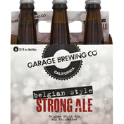 Garage Brewing Beer, Strong Ale, Belgian Style