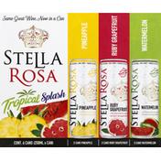 Stella Rosa Tropical Splash, Pineapple/Ruby Grapefruit/Watermelon