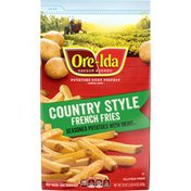 Ore-Ida Country Style French Fries Seasoned Frozen Potatoes with Skins