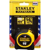 Stanley Tape Measure, Classic, 16 Foot