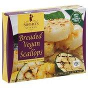 Sophie's Kitchen Scallops, Vegan, Breaded