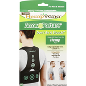 Hempvana Arrow Posture, Men & Women, Small/Medium