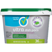 Simply Done Dish Pacs, Ultra