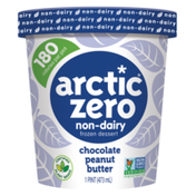 Arctic Zero Non-Dairy Frozen Desserts Chocolate Peanut Butter
