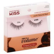 Kiss Lashes, Pumped-Up Effect, Chic