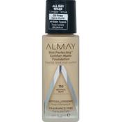Almay Foundation, Comfort Matte, Neutral Buff 110