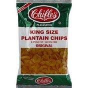 Chifles Plantain Chips, Original, King Size