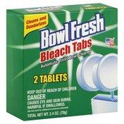 Bowl Fresh Toilet Bowl Cleaner, Automatic, Bleach Tabs