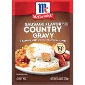 McCormick®  Sausage Flavor Country Gravy Seasoning Mix