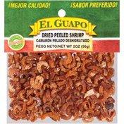 El Guapo®  Whole Dried Peeled Shrimp (Camaron Pelado Entero Deshidratado)