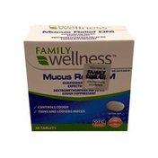 Family Wellness Mucus Relief Dm
