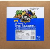 First Street Palm Shortening, All Purpose