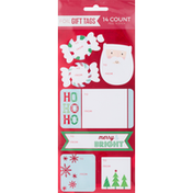 Paper Magic Group Gift Tags, Foil, Peel N Stick, 14 Pack