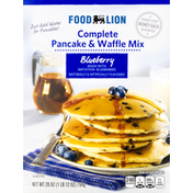 Food Lion Complete Pancake & Waffle Mix, Blueberry