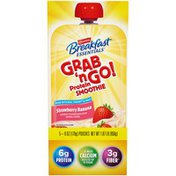 Carnation Breakfast Essentials Grab 'n Go! Strawberry Banana Protein Smoothie