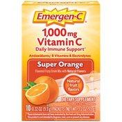 Emergen-C Vitamin C Fizzy Drink Mix Super Orange, Vitamin C Fizzy Drink Mix Super Orange