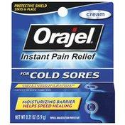 Orajel Cold Sores Cream Topical Analgesic/Skin Protectant