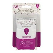 Summer's Eve On the Go 5 in 1 Simply Sensitive Cleansing Cloth