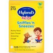 Hyland's 4 Kids Sniffles 'n Sneezes Quick-Dissolving Tablets