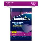 GoodNites TRU-FIT Bedwetting Underwear for Girls