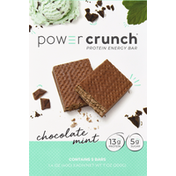 Power Crunch Protein Energy Bar, Chocolate Mint