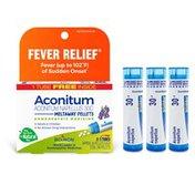 Boiron Aconitum Napellus 30c, Homeopathic Medicine for Fever Relief