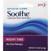 Bausch + Lomb Lubricant Eye Ointment, Night Time, Dry Eye Therapy