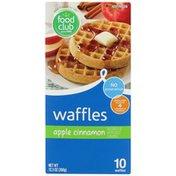 Food Club Apple Cinnamon Waffles