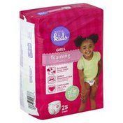 Basics For Kids Training Pants, Girls, Size 2T-3T (Up to 34 Lb)